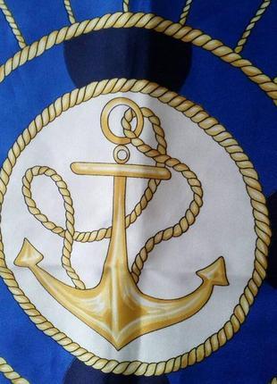Итальянский платок в морской тематике.