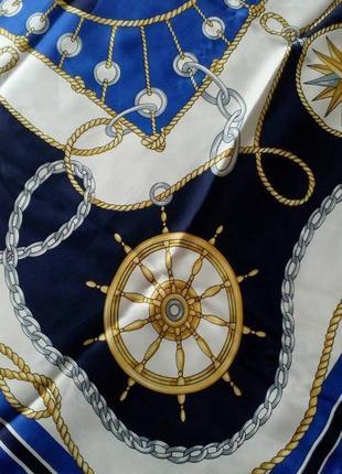 Итальянский платок в морской тематике.2 фото