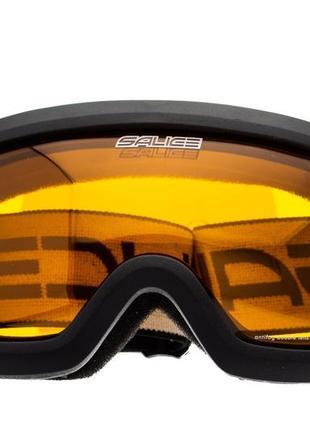 Маска гірськолижна salice 992da black