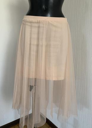 Фатиновая юбка new look