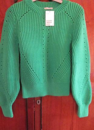Очень симпатичный свитер h&m размер xs