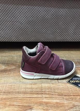 Кроссовки детские на девочку черевики еко ecco (оригинал) р.25 (16см)