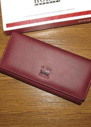 Кожаный кошелек шкіряний гаманець из натуральной кожи женский жіночий