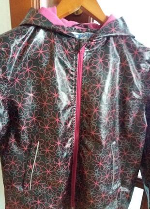 Куртка ветровка на флисе.германия pocopiano