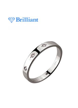 Ликвидация срочно🔥   шикарное золотое кольцо с бриллиантами в стиле gucci / белое золото