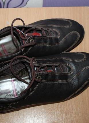Кожаные туфли ecco разм 39