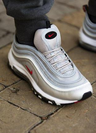 Шикарные кроссовки унисекс nike air max 97