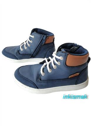Хайтопы ботинки демисезон zack eur 28 (мой замер по стельке 17.8 см)