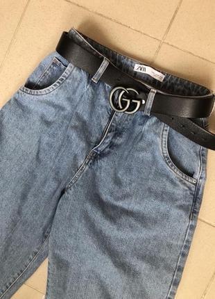 Джинсы мом джинсы бананы джинсы женские джинсы zara
