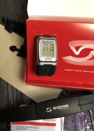 Спортивные часы sigma сигма спорт sport pc 3.11 black