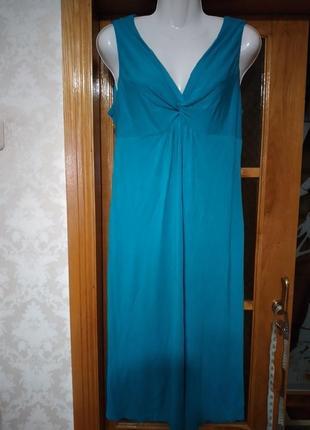 Платье трикотажное 44 евро размера