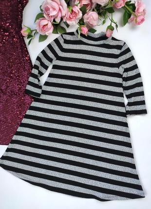 Платье тонкой вязки f&f на 7-8лет