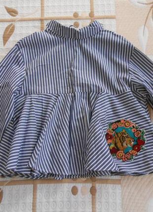 Новая блуза zara, s