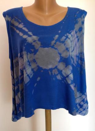 Свободная короткая блузка/l/ brend completo