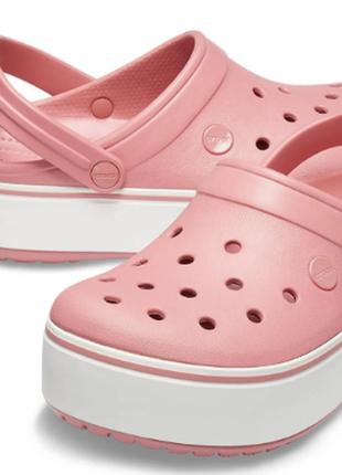 Кроксы cабо crocs на платформе
