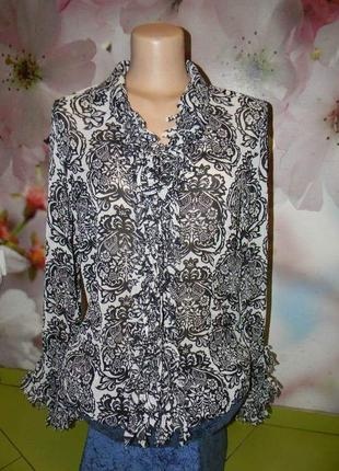 Блуза шёлк