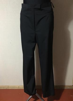 Чёрные классические женские брюки/стильные женские штаны класика р 40 идеальные