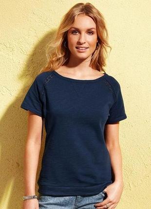 Блуза, декоративная вязка,tchibo германия , р. наш 42-46 36/38 евро