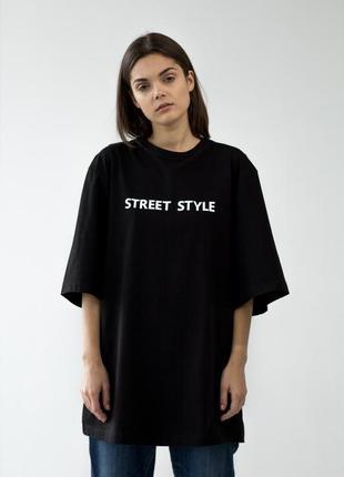 "Футболка оверсайз ""street style"""
