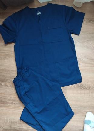 Медицинская форма хирургический костюм мужской doctoram
