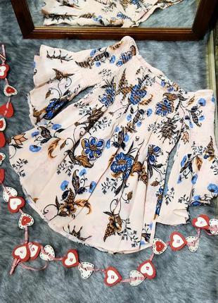 #розвантажуюсь блуза топ кофточка на плечи river island1 фото