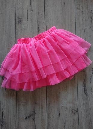 Фатиновая юбка пачка трехслойная h&m 6-8 лет