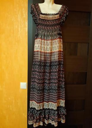 Платье длинное легкое new look