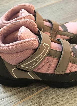 Деми ботинки непромокаемые quechua