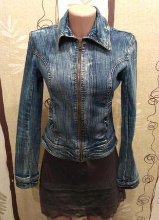 Tally weijl джинсовая куртка, пиджак на молнии