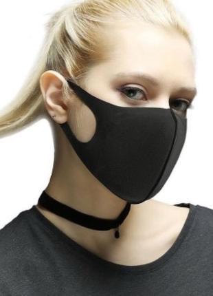 Многоразовая маска для лица из неопрена-дайвинга, защитная маска 10 шт