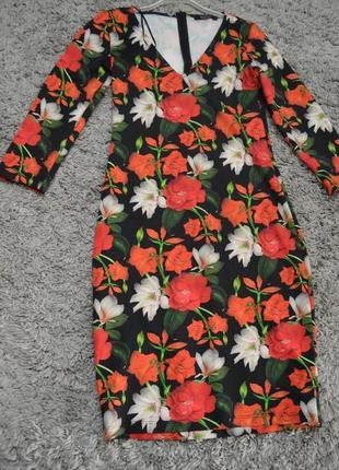 Стильне плаття в квіти