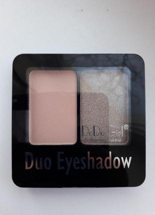 Тени бля век dodo girl duo eyeshadow