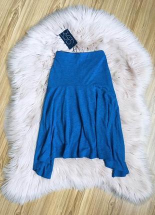 Оригинальная синяя юбка top secret