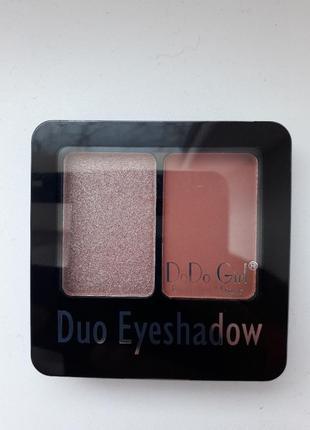 Тени для век dodo girl duo eyeshadow
