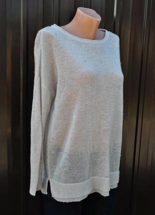 Новая коллекция! весна / лето 2020.легкий вязанный свитер