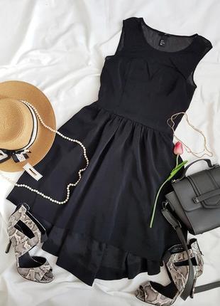 Круте  базове шифонове платтячко від h&m
