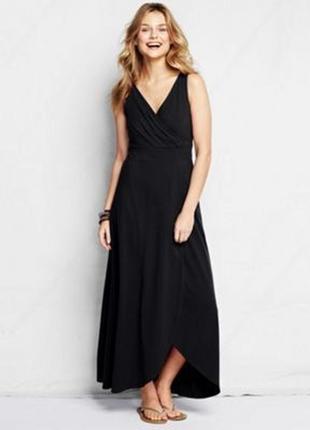 Платье большое батальное чёрное свободное вечернее праздничное debenhams