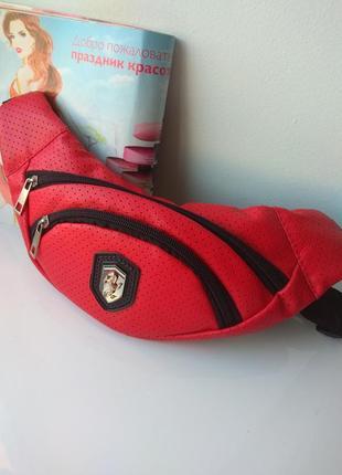 Спортивная сумка бананка на пояс puma ferrari