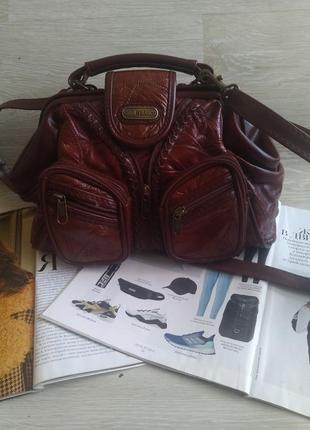 Оригинальная сумка саквояж