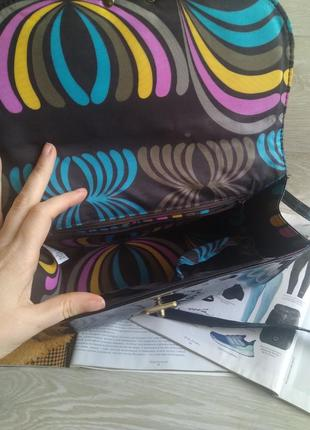 Черная лаковая сумка3 фото
