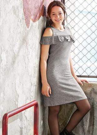 Платье с открытыми плечами 170-176 pepperts. германия, для подростков