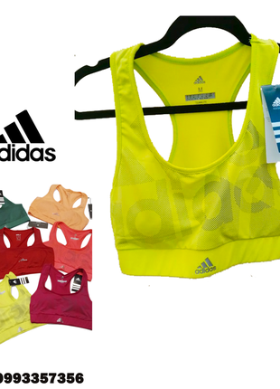 Фирменный спортивный топ adidas