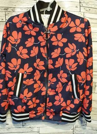 Модный качественный бомбер куртка американка. с 128 по 146 размер!