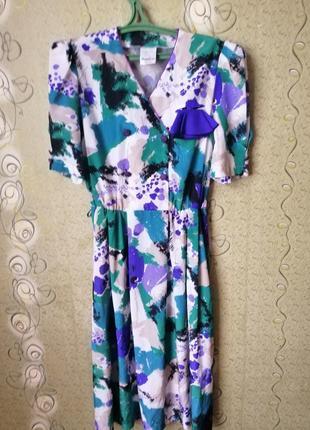 Meico city style винтаж миди платье.