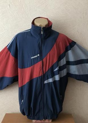 Canada- олимпийка, тоненькая куртка на замке, спортивная куртка ветровка 52-54