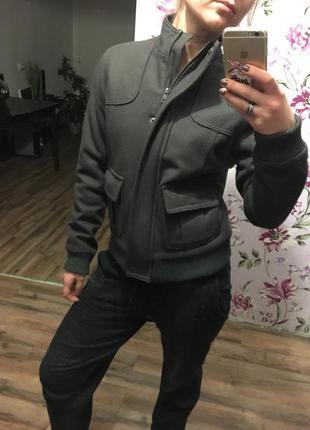 Драповая куртка etam
