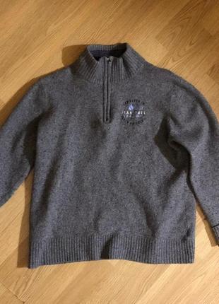 Jean paul шерстяной свитер с высоким горлом