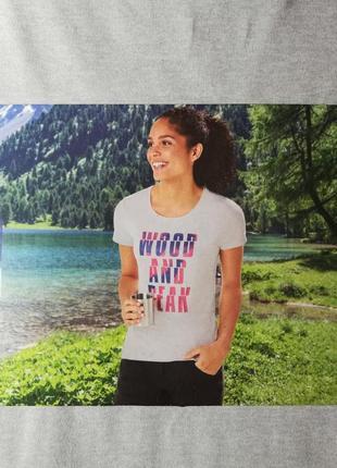 Спортивная футболка для фитнеса, йоги s 36-38, m 40-42, crivit, германия,