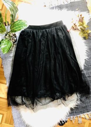 Новая шикарная юбка boohoo р-р 36-38
