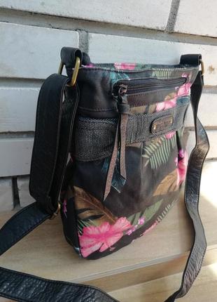 Фірмова сумка кросбоді американського бренду dakine. оригінал!!!4 фото